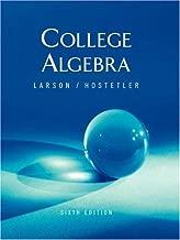 By Robert Hostetler Ron Larson, Robert P. Hostetler: Precalculus Sixth (6th) Edition
