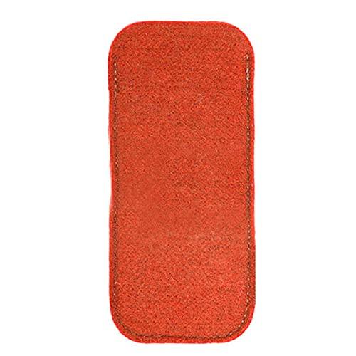 XKMY Estuche para gafas de sol de fieltro suave útil para gafas de sol, funda para gafas, bolsa de maquillaje, color rojo