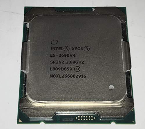 Intel Xeon Processor E5-2690 v4 (35M Cache, 2.60 GHz) 2.6GHz 35MB Smart Cache - Processors (2.60 GHz), Intel Xeon E5 v4, 2.6 GHz, LGA 2011-v3, Server/workstation, 14 nm, E5-2690V4)