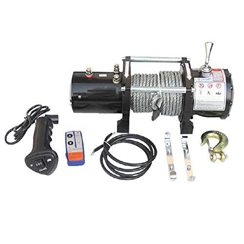 12V / 24V Cabestrante Electrico, Cabrestante Eléctrico De Cable De Acero, Cabrestante...