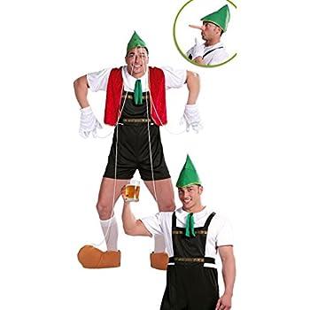 Guirca - Disfraz adulto de tirolés-marioneta (80598): Amazon.es ...