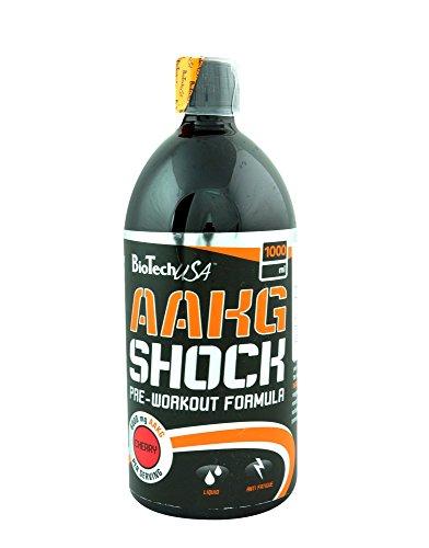 BioTech USA IAF00070540 AAKG Shock Extreme, 1000 ml, Ciliegia