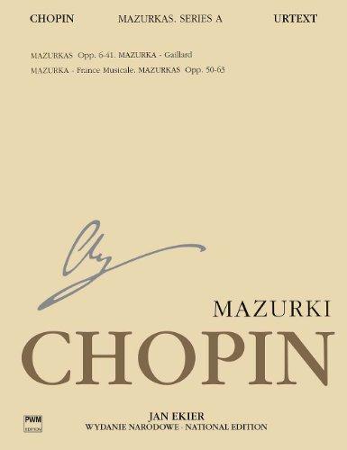 ショパン: マズルカ集/エキエル編(英語版)/ポーランド音楽出版社/ピアノ・ソロ