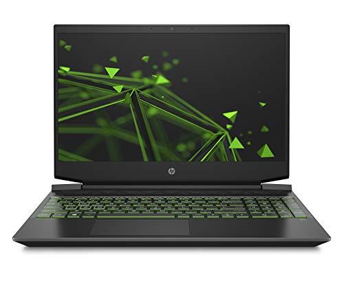 HP Pavilion Gaming 15-ec2253ng (15,6 Zoll / FHD IPS 144Hz) Gaming Laptop (AMD Ryzen 5 5600H, 8GB DDR4 RAM, 512GB SSD, Nvidia GeForce GTX 1650 4GB, Windows 10, QWERTZ-Layout) Schwarz