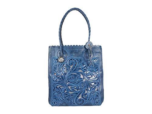 Patricia Nash Cavo Tote Safflower Blue 1 One Size