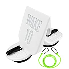 WAKE SURFING MADE SIMPLE – Universal, Develop a Larger and Longer Surf Wave on Almost All Inboard Boats. EASY TOOL-FREE INSTALLATION – Industrial Strength Suction Cup Technology, Easily attach and remove while in the boat or in the water in seconds. ...