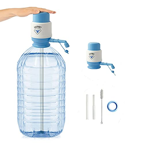 E761399 -Dispensador Agua para garrafas   Dosificador Agua garrafas Compatible con Botellas (Pet) de 5 ó 8litros Compatible con la mayoría de Botellas Grandes Que usas a Diario en casa