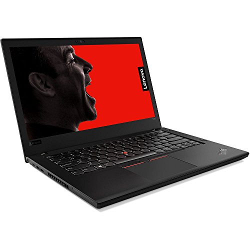 Product Image 1: Lenovo ThinkPad T480 14″ HD Business Laptop (Intel 8th Gen Quad-Core i5-8250U, 16GB DDR4 RAM, Toshiba 256GB PCIe NVMe 2242 M.2 SSD) Fingerprint, Thunderbolt 3 Type-C, WiFi, Windows 10 Pro – Black