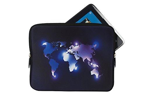 Reissverschluss Tablet PC Notebook Tasche Schutz Hülle mit Motiv