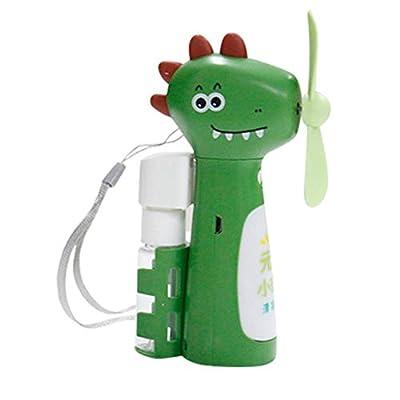 Portable Mini USB Cooling Fan Green Dinosaur To...