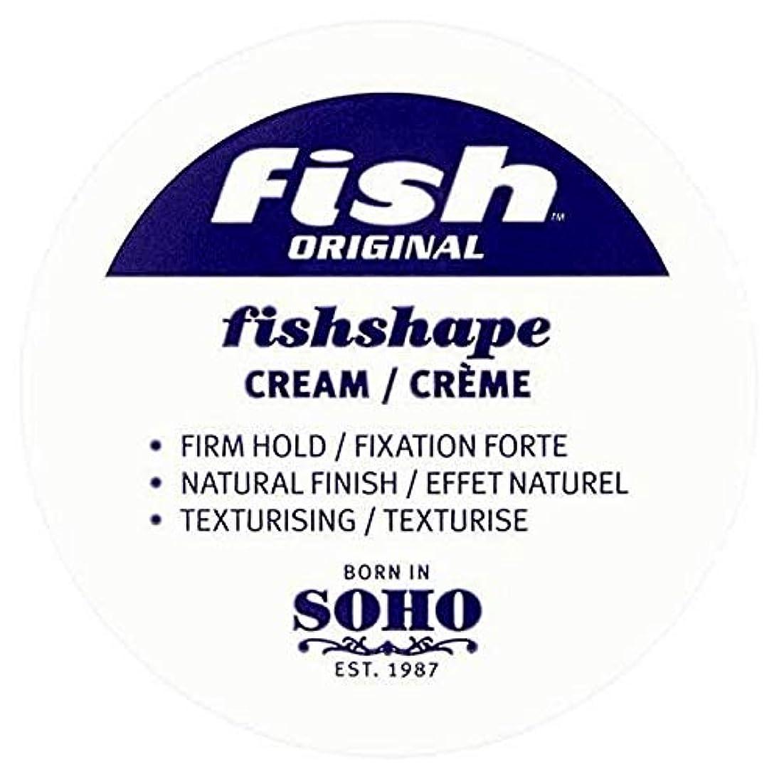 お母さん賞賛する失望[Fish Soho ] 魚本来のFishshapeテクスチャーのクリーム100ミリリットル - Fish Original Fishshape Texturising Cream 100ml [並行輸入品]