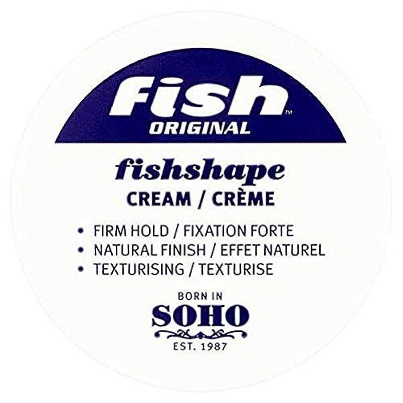 どこにでも母メールを書く[Fish Soho ] 魚本来のFishshapeテクスチャーのクリーム100ミリリットル - Fish Original Fishshape Texturising Cream 100ml [並行輸入品]