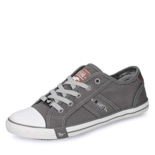 MUSTANG Damen 1099-302 Sneaker, Grau (Silbergrau 932), 38 EU