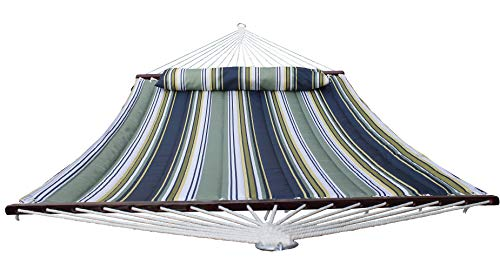 HENG FENG Hammock Quilted Fabric with Detachable Pillow and Double Size Spreader...