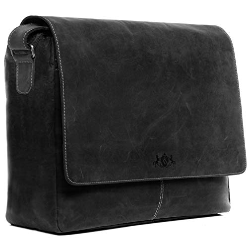 SID & VAIN XL Messenger Bag mit 15