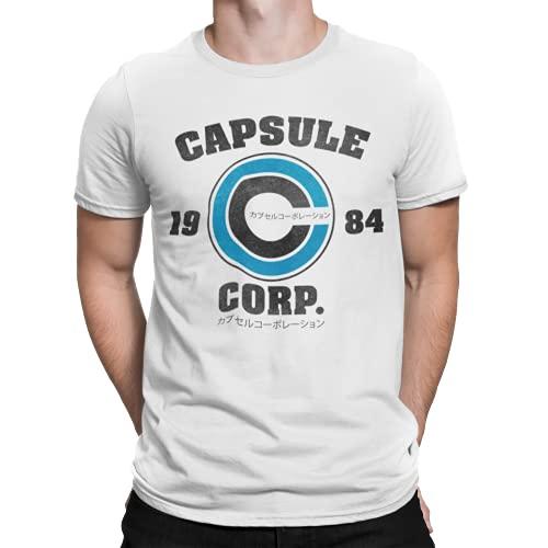 2231-Camiseta Premium, Capsule Corp (Melonseta) XL