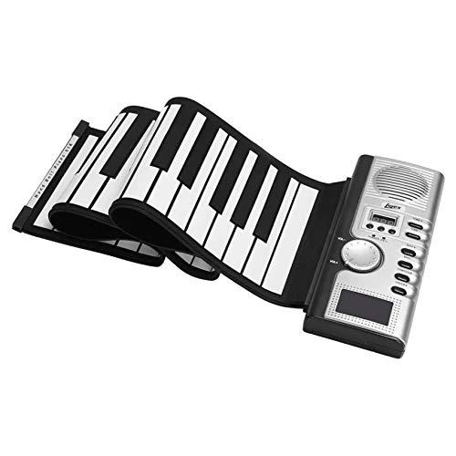 SNOWINSPRING 61 Tasten Hand Roll Up Piano Tragbare Zusammenklappbare Elektronische Orgel Tastatur Instrumente Silikon Soft Keyboard