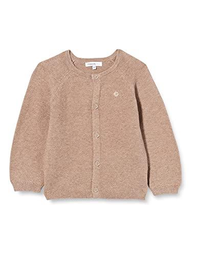 Noppies Unisex Baby U Cardigan Knit Naga Strickjacke, Taupe Melange-P757, 62
