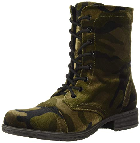 Volatile Women's Underground Combat Boot, Camouflage, 6.5 M US