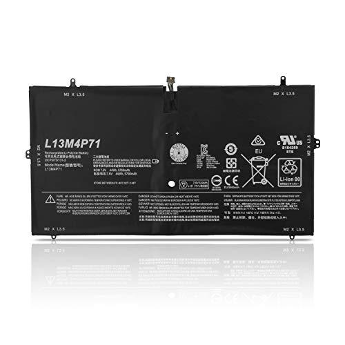 K KYUER 7.6V 44Wh 5900mAh L13M4P71 Laptop Akku für Lenovo Yoga 3 Pro 1370 Pro-1370 80HE Yoga 3 Pro-5Y71 Pro-I5Y70 Yoga 3 Pro-I5Y51 Series L14S4P71 Notebook Battery