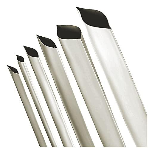 Schrumpfschlauch 2:1 transparent/klar Auswahl aus 10 Größen und 6 Längen Meterware von ISOLATECH (hier: Ø10mm - 2 Meter)