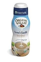 Organic Valley, Organic French Vanilla Half and Half - 16 oz Pint