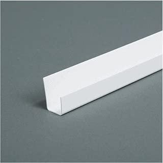 AMERIMAX HOME PRODUCTS 37110 8' White J Corner Bead 1/2