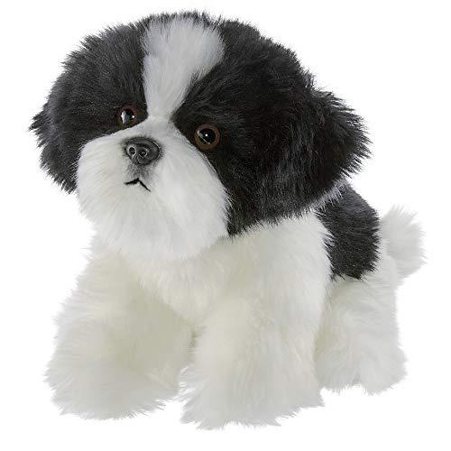 Bearington Butch Plush Havanese Stuffed Animal Puppy Dog, 13 Inches