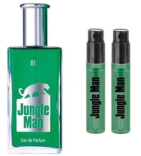 LR Jungle Man Eau de Parfum 50ml und 2 x Vapos Jungle Man EdP für unterwegs