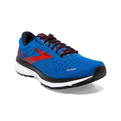 Brooks Ghost 13, Zapatillas para Correr para Hombre, Blue Red White, 47.5 EU