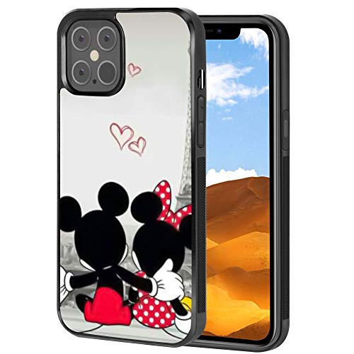 DISNEY COLLECTION Tire Phone Case iPhone 12 Pro Shock Absorption Durable Cover Cute Pattern Wallpaper Disney Mickey Mouse