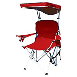 Bravo Sports Four Seasons Courtyard Shade Chair With Canopy And Carry Case