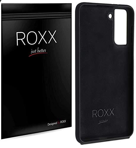 Roxx Hard Case Silikon Hülle | Kompatibel mit Samsung Galaxy S21 | Wie das Original nur Besser | Testsieger