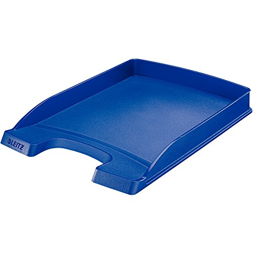 Leitz Plus flacher Briefkorb, A4, Blau, 52370035
