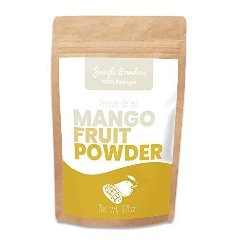 Mango liofilizado en polvo x 200 g. Fruta congelada 100%