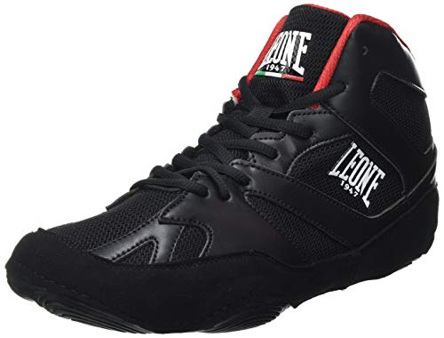 LEONE 1947 - Zapatilla Fighting Luchador Cl130, Unisex, Adulto, Negro, Talla 43