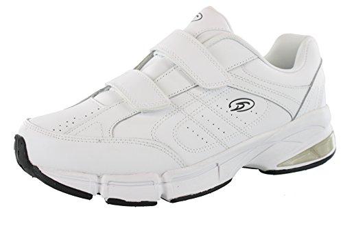 Dr.Scholls Men's Omega Light Weight Dual Strap Closure Sneaker Wide Width,...