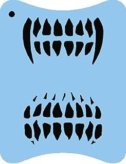 Face Painting Stencil - QuickEZ/Teeth #41