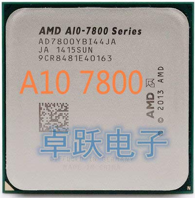 A10-Series A10 7800 3.5GHz Quad-Core CPU Processor Socket FM2+