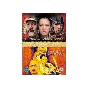 The Curse of The Golden Flower / Crouching Tiger, Hidden Dragon [2 DVDs] [UK Import]