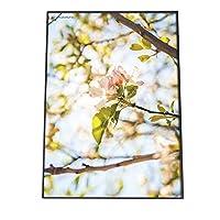 FASHION POSTER(ファッションポスター) A1(約59cm×84cm) ポスター(微光沢) ポスターのみ サクラ 梅 ウメ 花 フラワー ピンク 木 お洒落 モダン(fg-poster-530-a1A1biko)