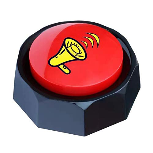 U-Likee Talking Button- Rap Airhorn Sound Button-Hip Hop Air Horn Sound Effect Button - Funny Gag Gifts - Noise Maker(Battery Included)