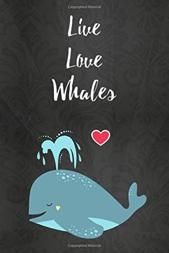 Thick Notebook: Lined Journal (120 Pages) – Whale gifts for women, stuff (Gag Gifts)