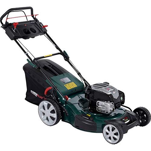 Power Plus powxqg7555 cortacésped Empuje ruedas motrices,
