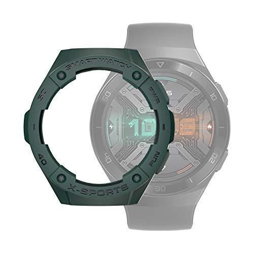 PANGTOU Funda protectora de TPU para Huawei Watch GT2e, color verde militar
