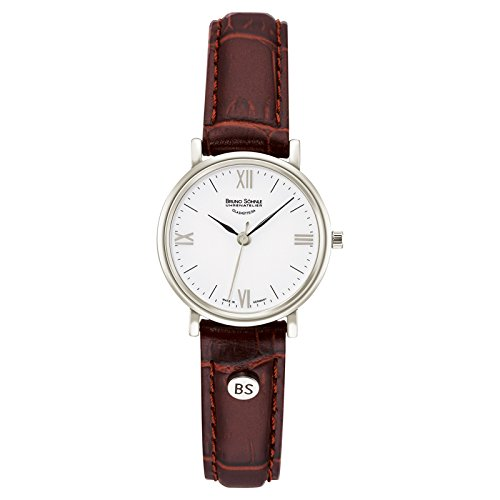 Bruno Söhnle Damen Analog Quarz Uhr mit Leder Armband 17-13045-971