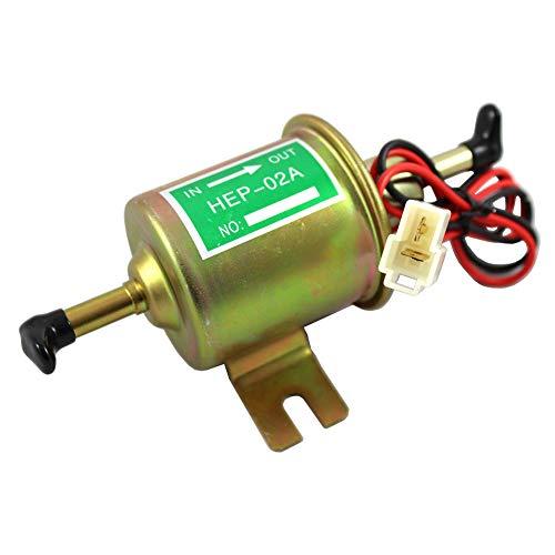Comtervi universele 12V brandstofpomp HEP-02A benzinepomp dieselpomp elektrische bouwmachine bout montage draad inline voor benzine diesel