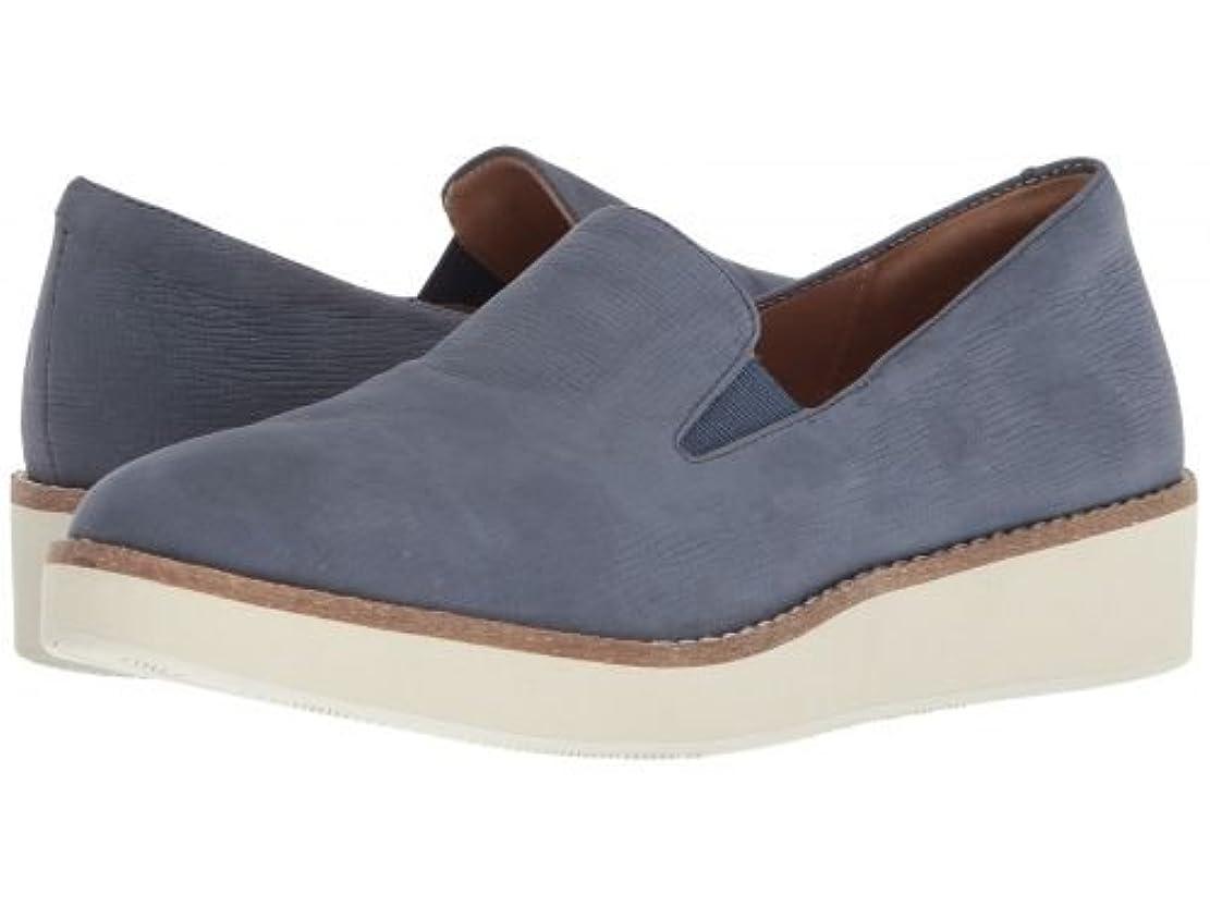 ガウン忠実な拍手するSoftWalk(ソフトウォーク) レディース 女性用 シューズ 靴 ローファー ボートシューズ Whistle - Denim Embossed Soft Leather [並行輸入品]