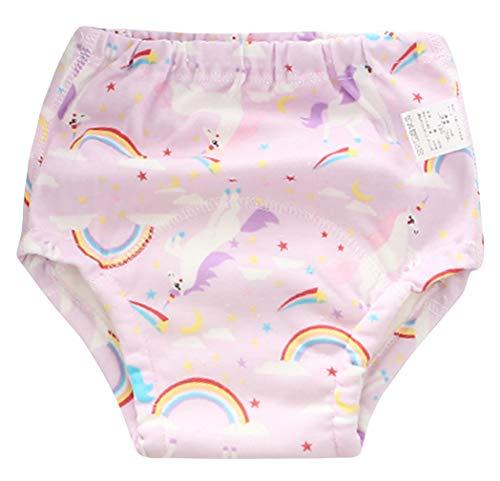 EOZY Baby Windelhose Mädchen Junge Trainerhosen Töpfchentraining Trainer Unterhose Farbe4 110
