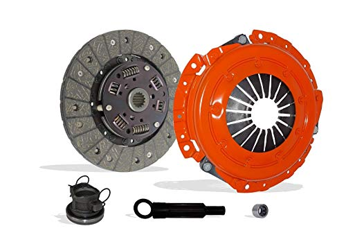 Clutch Kit compatible with Tj Wrangler Cherokee Base Se Rio Grande S Sport Utility 2-Door 1994-2002 2.5L 150Cu. In. l4 GAS OHV Naturally Aspirated (Stage 1; 4 CylindersL4, 2.5L)